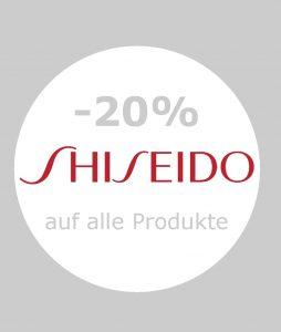 rabattaktion der Firma Shiseido